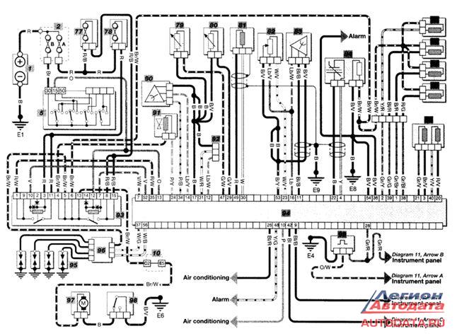 схему электрических