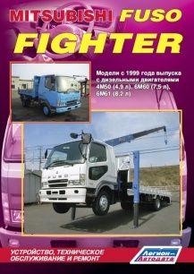 Информационно-справочное с многочисленными схемами и иллюстрациями пособие по ремонту Mitsubishi Fuso Fighter...